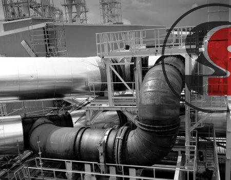 Condutas e câmara de mistura de gases