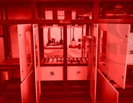 Máquina de testes de estanquicidade